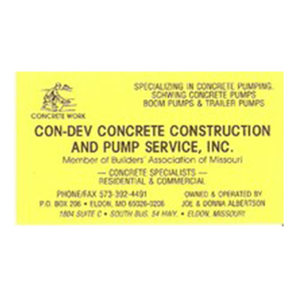 Con-Dev Concrete Construction