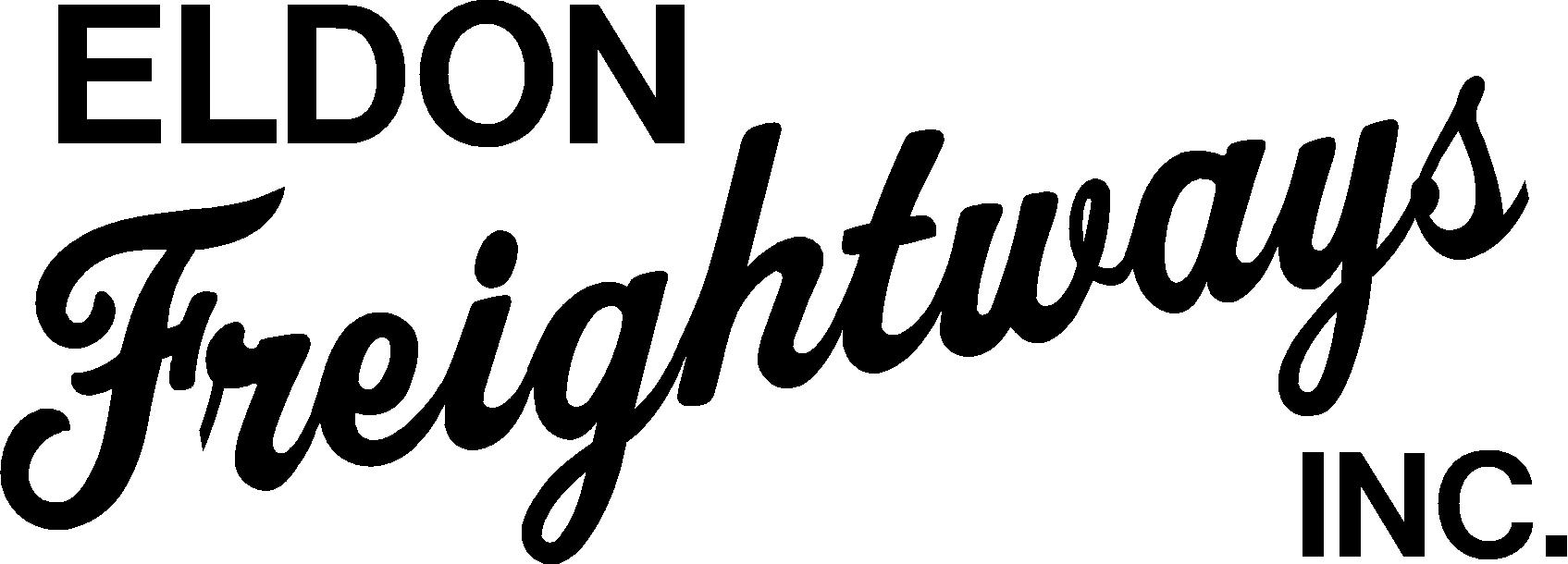 Eldon Freightways Inc.